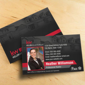 Keller Williams Business Card BC1861BL-KW