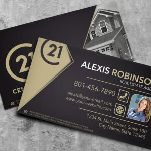 Century 21 Business Card  Template