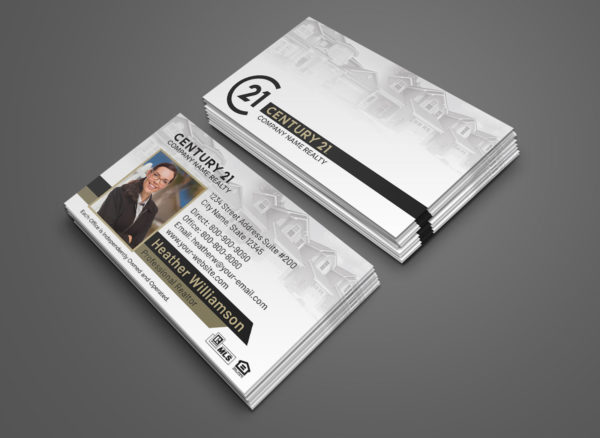 Century 21 Business Card BC1861WH-C21