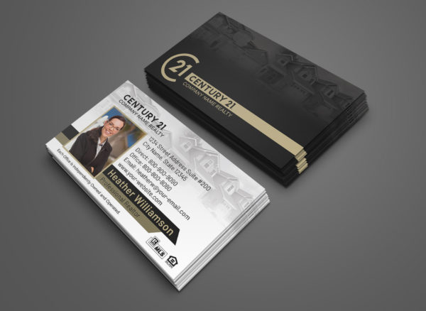 Century 21 Business Card BC1861WB-C21