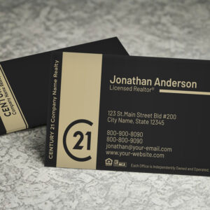 Century 21 Business Card Template – BC1830C21