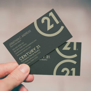 Century 21 Business Card Template BC1909011C21
