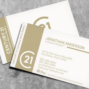 Century 21 Business Card Template 18030WG
