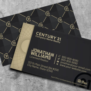 Century21 Business Card Template 182079B
