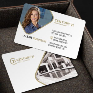 Century 21 Business Card Template – BC2070W-C21