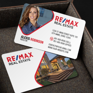 Remax Business Card Template – BC2070W-REMAX