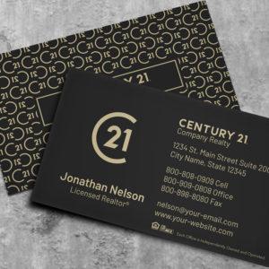 Century 21 Business Card Template 182074