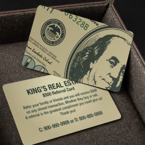 Dollar Business Card