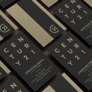 Century 21 Business Card Design Template